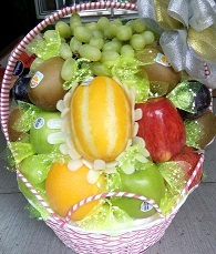 Giỏ trái cây nhập khẩu G15C