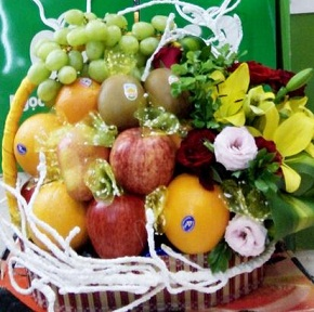 trái cây quận 2