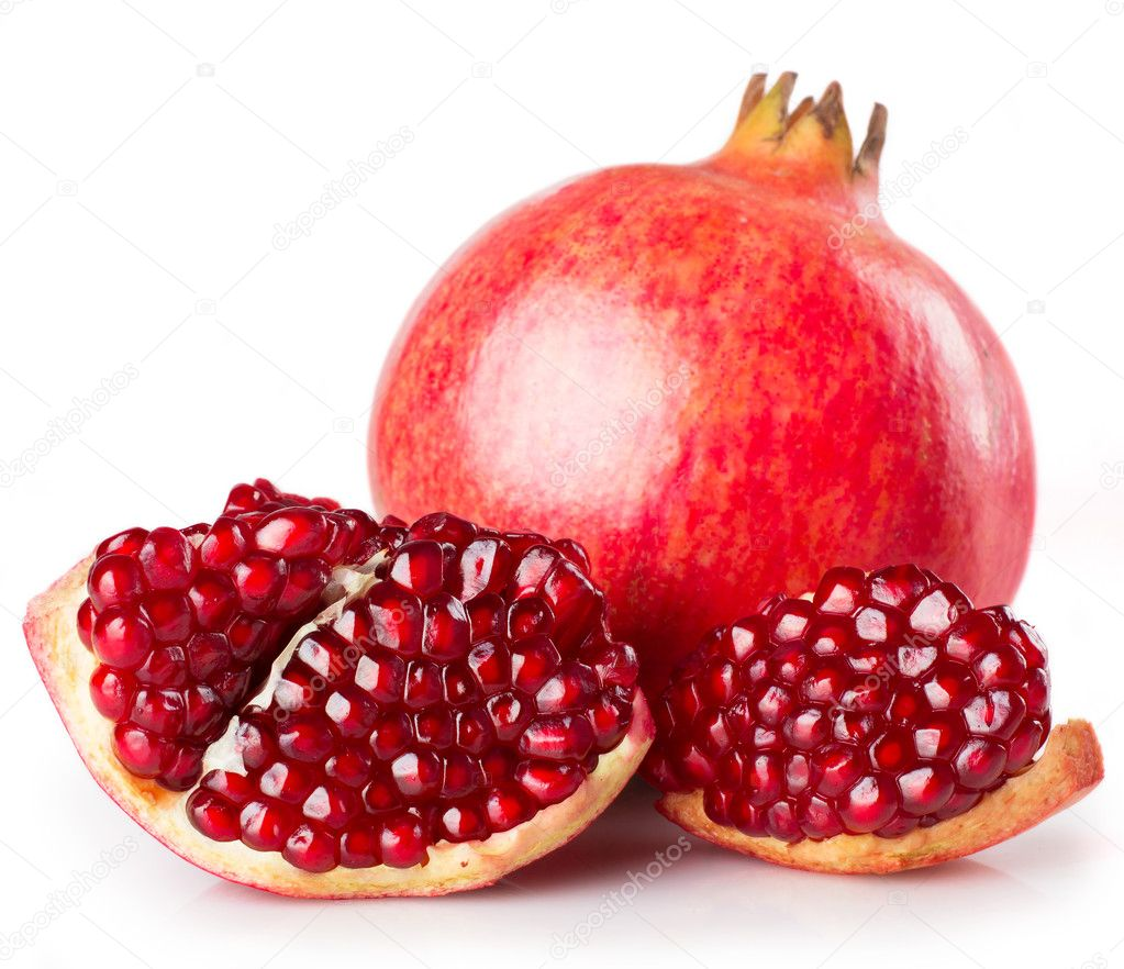 depositphotos 19015351 stock photo fresh pomegranate 1